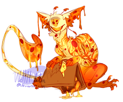 [ADOPT] Extra Cheese (pizza cccat) [CLOSED] by WellHidden