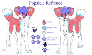 Popsicle Refrence by coffaefox