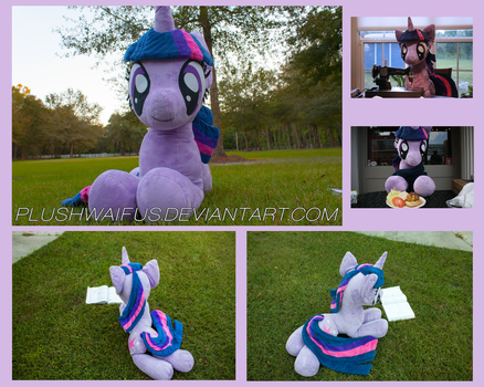 Life Sized 36 inch Twilight Sparkle by PlushWaifus