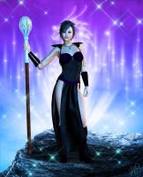 Raven Starborn by Silverwind3D