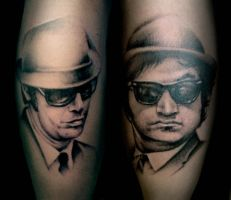 Blues Brothers by tainted-orchid