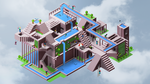 Isometric Recreation Center by AnyLord