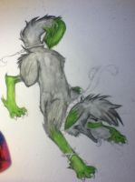 spirit wolf (not finished) by UbiOokami23