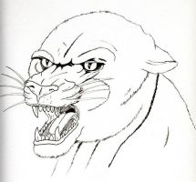 Panter by Warr3