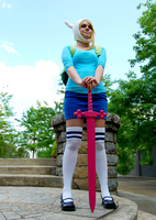 Its A Great Day For Adventure- Fionna Cosplay by AyeAvast