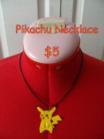 Pikachu Necklace by CynicalSniper