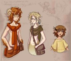 Fauns by Neverjay