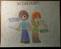 Minecraft: ~The Knight and The Archer~ by MusicalArtNinja