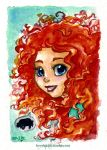 Brave - Merida by KeyshaKitty