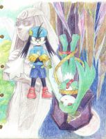 Klonoa and The king of sorrow by Tanglili