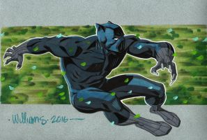 Black Panther for Shelton by BroHawk