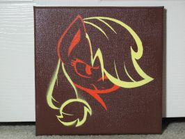 Applejack Stencil Painting by brycehebert