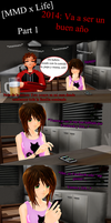 [MMD x Life] 2014: Is going to be a good year[P.1] by LoverCathy