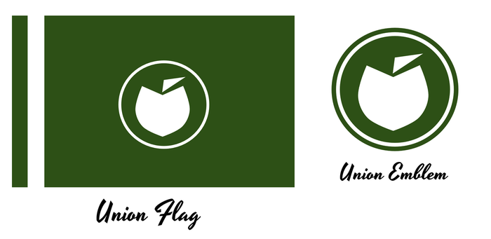 Union of Lanzarote Flag and Emblem by KingWillhamII
