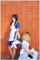 Bad Alice and Good Alice by Cat-sama