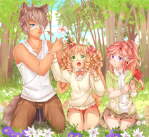 fe1: Flowers are to be planted! by golden-essence