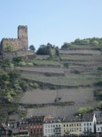 Castle over the Vineyards by Lafire