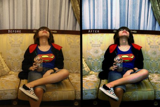 Before||After - Heroes Need Rest by RedsoulTayki