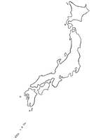 Map of Japan by mystichuntress