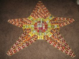 Staryu (Pokemon Card Collage)