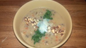 Chicken and Wild Rice Soup by FutureChefHaku