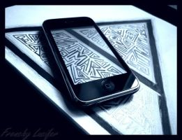 Triad Iphone by HLea33