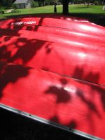 Stock - Red Canoes 2 by darlingstock