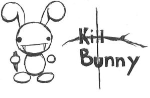 KILL BUNNY by pooki3bear