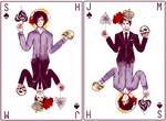 Kings of Spades by froggyk