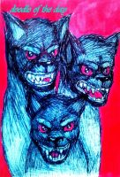 #66 Cerberus by Doodle-of-the-day