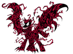 Spiders and Magic - Carnage (Symbiote Alicorn) by edCOM02
