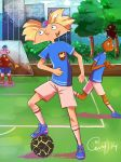 football Arnold by alone-werewolf