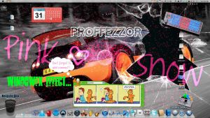 Pink Snow effect for Stardock WindowFX by lkearney29