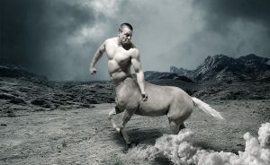 Epic centaur by L-Art-chitecte