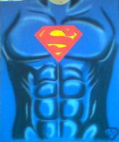 SUPER T- SHIRT AIRBRUSHED by javiercr69