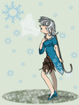 Christmas Contest - Watching Snowfall by 10SHADOW-GIRL10