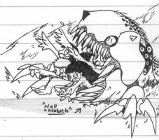 HellMouth sketch by Kainsword-Kaijin