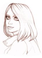 Dw- Rose Tyler close-up by Noe-Izumi