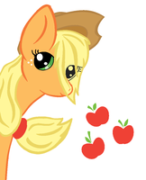 Applejack Colored by X-ShiningStar-X