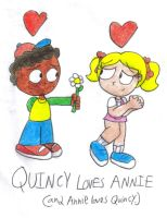 Quincy + Annie by SomePkmn-LovingDude
