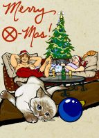 Cajun Christmas by Spasticat