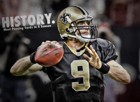 Drew Brees Record by RGray525