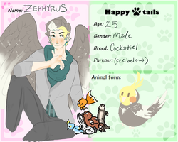HT :: Zephyrus by little-ashen-finch