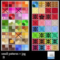 small  patterns B by roula33