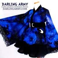 Galaxy Princess Luna MLP Cosplay Kimono Dress by DarlingArmy