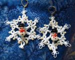 Winter earrings by MirachRavaia