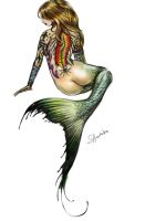 Tattoo Mermaid by SYoshiko