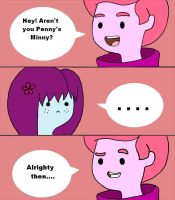 When Minny Met Prince Gumball by Flower-For-A-Ghost