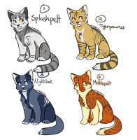 Point Adoptables/ Breedables-CLOSED by Rinqz