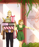 Shopping Siblings by Camilla205